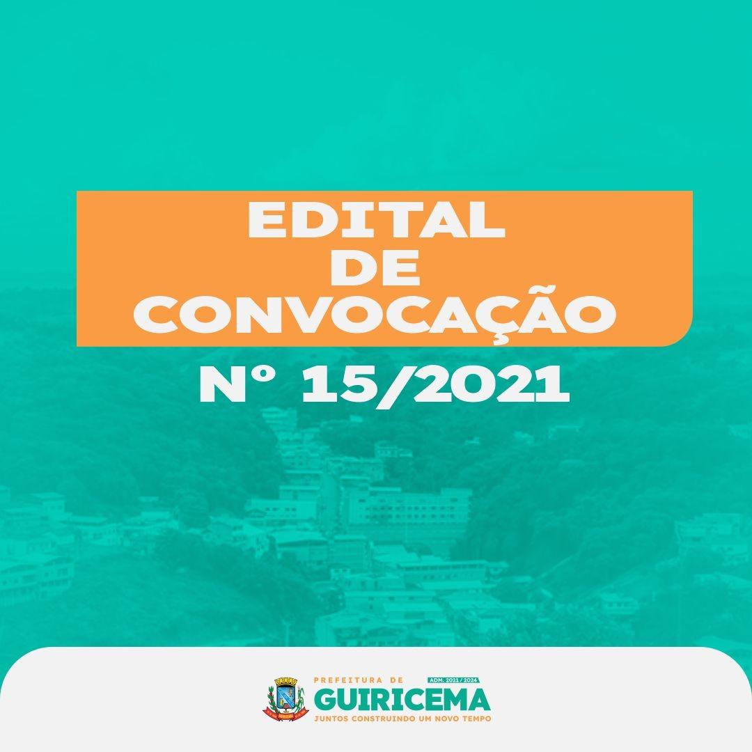 CONVOCAÇÃO DOS CANDIDATOS CLASSIFICADOS NO PROCESSO ...