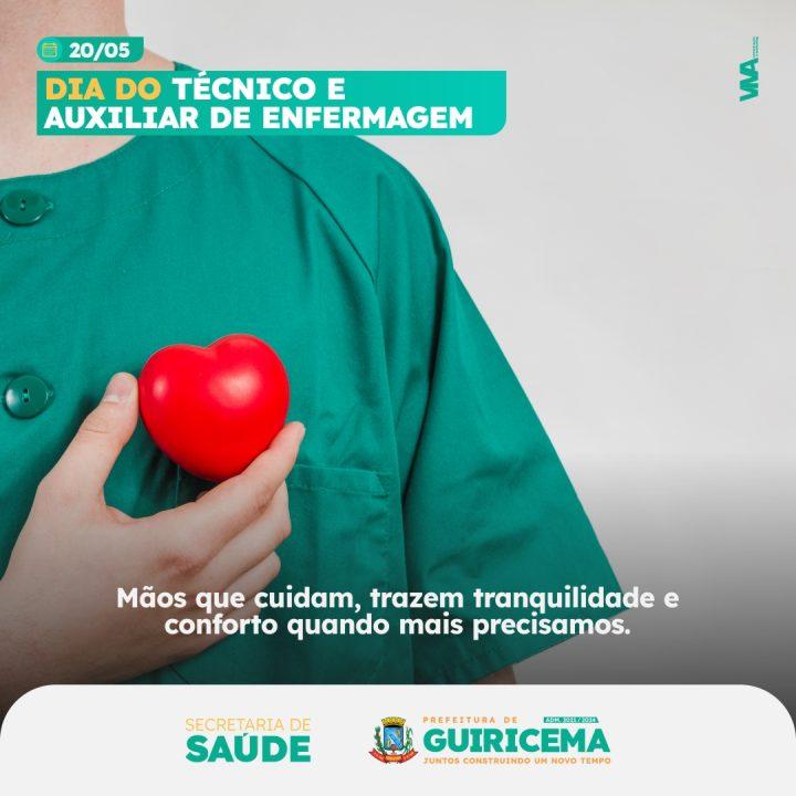 Guiricema - POST - Dia do tcnico e auxiliar de enfermagem