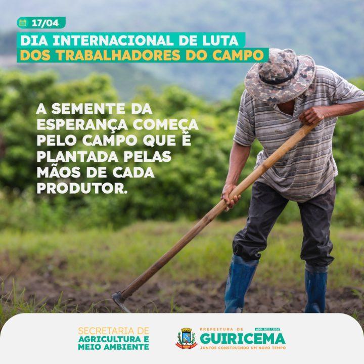 Guiricema - POST - Dia dos trabalhadores do campo