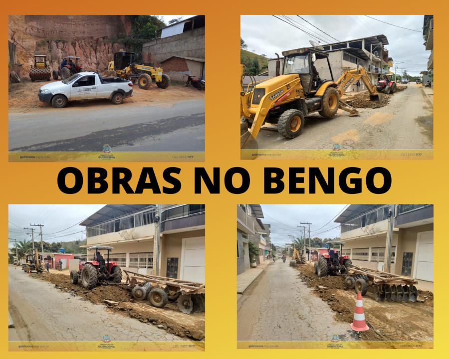 OBRAS NO BENGO - SITE