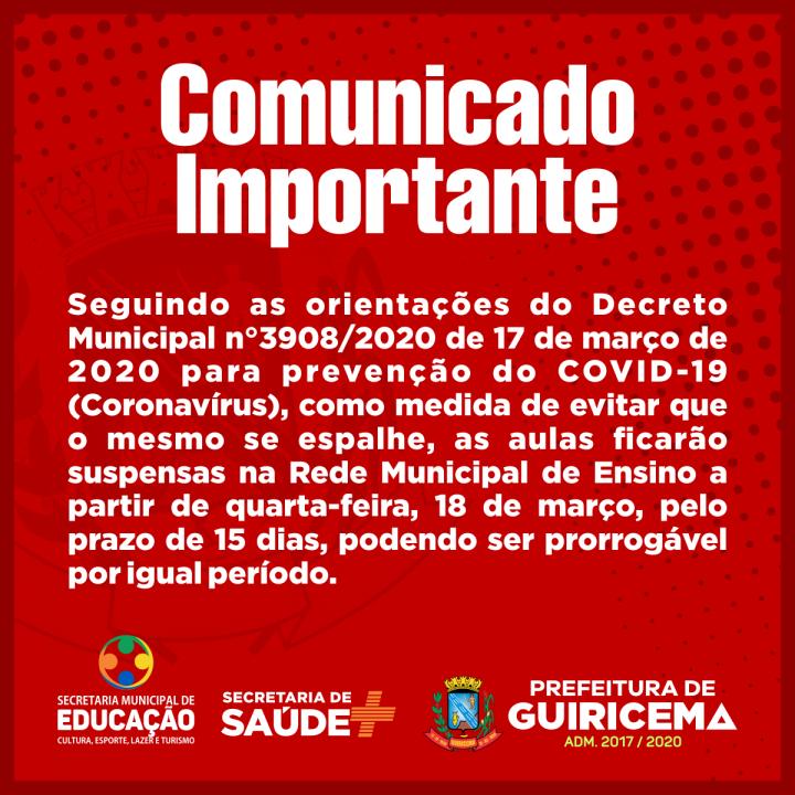 PREFEITURA DE GUIRICEMA_Comunicado_aulas-suspensas