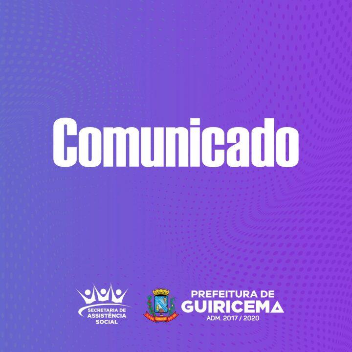 PREFEITURA DE GUIRICEMA_comunicado_assistência-social