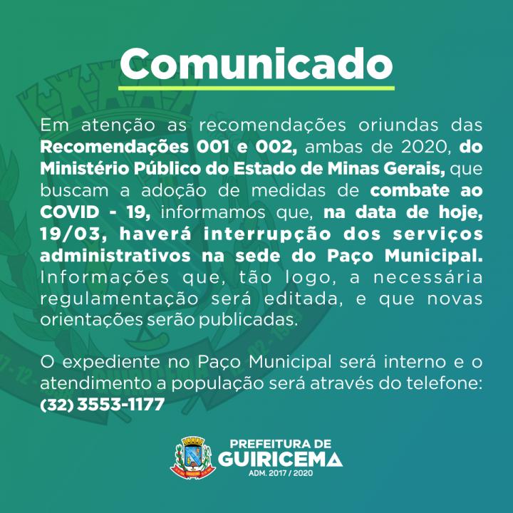PREFEITURA DE GUIRICEMA_comunicado_paço-municipal