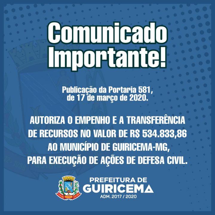 PREFEITURA DE GUIRICEMA_comunicado_portaria